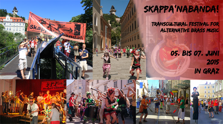 Skappa'nabanda! - Transcultural Festival for Alternative Brass in Graz